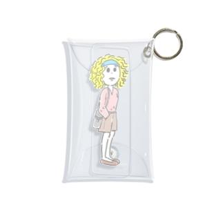 希望を捨てない女の子 Mini Clear Multipurpose Case