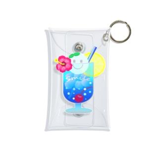 Yokokkoの店のSmile in Cream Soda🍹 Mini Clear Multipurpose Case