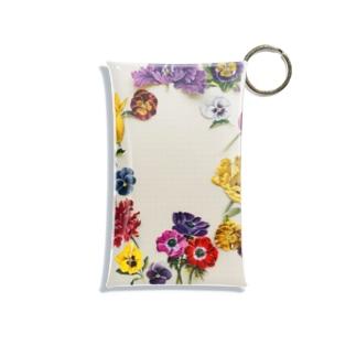 flower photo T Mini Clear Multipurpose Case