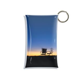 サハラ砂漠の朝焼け Mini Clear Multipurpose Case