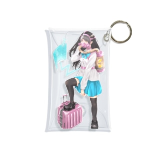 次世代型女子高生 Mini Clear Multipurpose Case