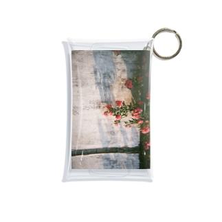陽落ちる花の影 Mini Clear Multipurpose Case