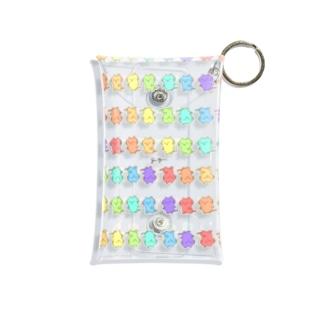 レインボーじぃにぃ Mini Clear Multipurpose Case