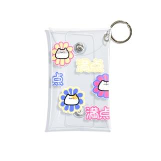 満点花丸ハムスター Mini Clear Multipurpose Case