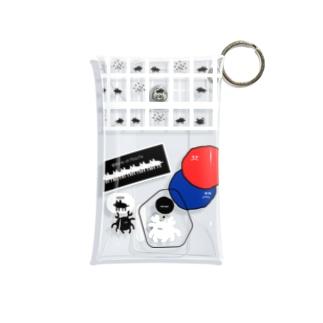 いぬとかに2 Mini Clear Multipurpose Case