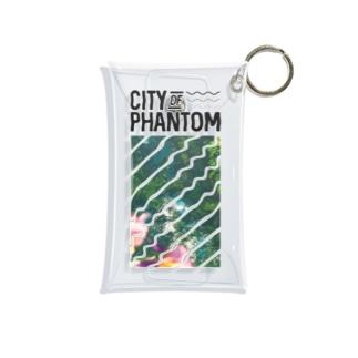 都市の亡霊 「Sweet Flag」 Mini Clear Multipurpose Case
