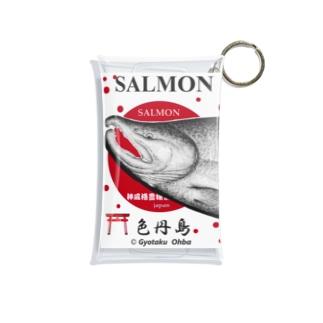 鮭!(色丹島;SALMON)あらゆる生命たちへ感謝をささげます。 Mini Clear Multipurpose Case
