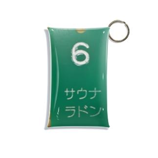 サウナ/ラドン No.6 Mini Clear Multipurpose Case