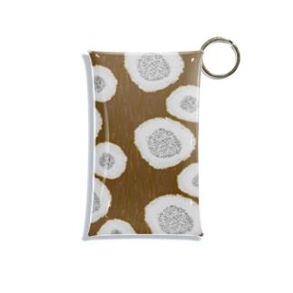 森の付箋 モジゴケ Mini Clear Multipurpose Case