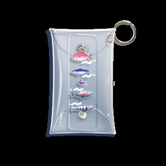 tdkmのおさかな Mini Clear Multipurpose Case