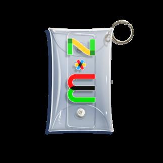 marikiroのZW initial Mini Clear Multipurpose Case