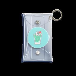 247_Zsのクリームソーダおばけ Mini Clear Multipurpose Case