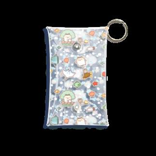 きゃらきゃらマキアートの海の中 Mini Clear Multipurpose Case