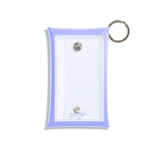my angel      blue Mini Clear Multipurpose Case