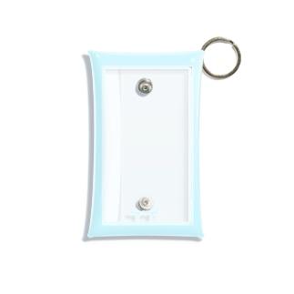 my angel     aqua Mini Clear Multipurpose Case