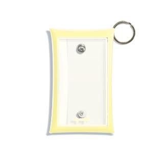 my angel     yellow Mini Clear Multipurpose Case