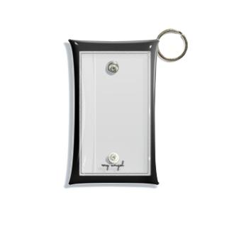 my angel      black Mini Clear Multipurpose Case