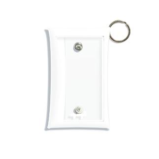 my angel      white Mini Clear Multipurpose Case