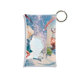 Kaltes Klares Wasser Mini Clear Multipurpose Case