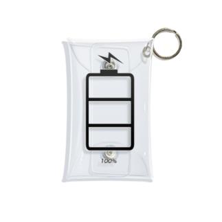 充電中 Mini Clear Multipurpose Case