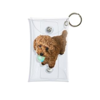 伝説の秘宝を携えし犬 Mini Clear Multipurpose Case