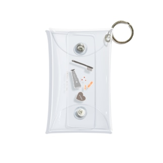 TRAVEL WITH YOU Mini Clear Multipurpose Case