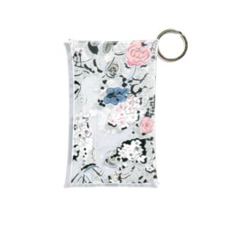 アーリーサマー・薔薇 Mini Clear Multipurpose Case