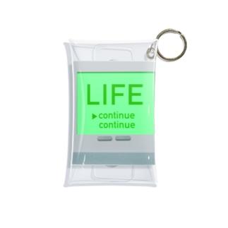 LIFE ライフ 人生 145 Mini Clear Multipurpose Case