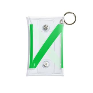 N LOGO 2003 GREEN Mini Clear Multipurpose Case