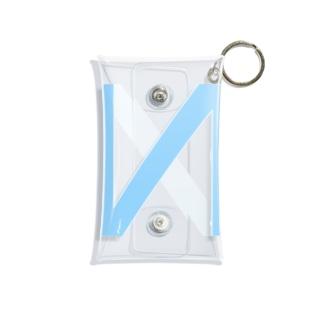 N LOGO 2003 BLUE Mini Clear Multipurpose Case