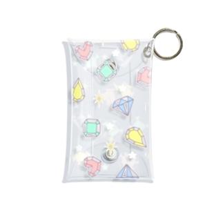 GEM1 パステルカラーバージョン Mini Clear Multipurpose Case