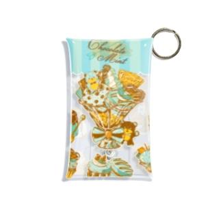 チョコミント Mini Clear Multipurpose Case