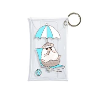SUMMER(ハリネズミ) Mini Clear Multipurpose Case