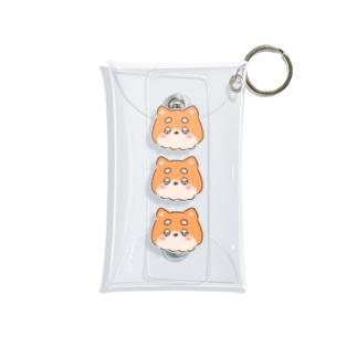おしば三兄弟 Mini Clear Multipurpose Case