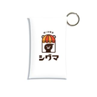 純くま喫茶 シグマ Mini Clear Multipurpose Case