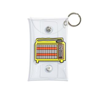 レトロ家電 Mini Clear Multipurpose Case