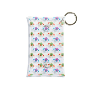 おさげボーイ Mini Clear Multipurpose Case
