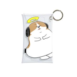 もじゃまる昇天 Mini Clear Multipurpose Case