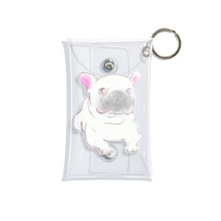 ホワイトフレンチブルドッグ Mini Clear Multipurpose Case