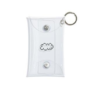 もくもく雲 Mini Clear Multipurpose Case