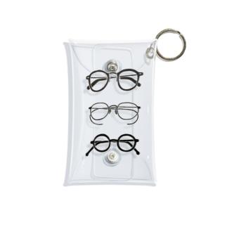 3メガネ Mini Clear Multipurpose Case