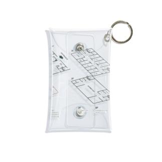 kaganhotel floor guide goods Mini Clear Multipurpose Case