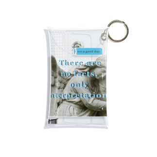 Have a good day Mini Clear Multipurpose Case