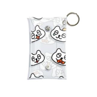 ねこちゃんズ Mini Clear Multipurpose Case