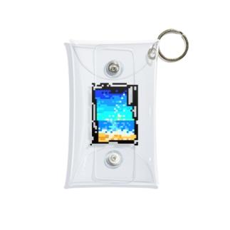 D-02-summer Mini Clear Multipurpose Case
