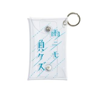 雨T(濃) Mini Clear Multipurpose Case