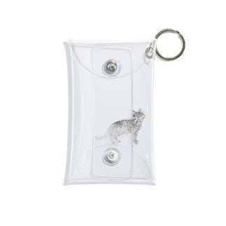 ねこちゃん。 Mini Clear Multipurpose Case