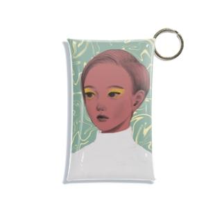 girl13 Mini Clear Multipurpose Case