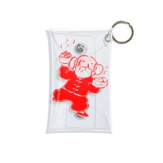 チャイナ子ちゃん(豆板醤) Mini Clear Multipurpose Case