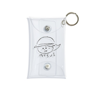 nanb__desのATSUI女の子 Mini Clear Multipurpose Case